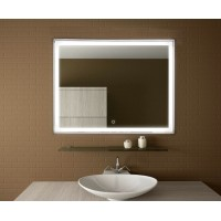 Зеркало в ванну с подсветкой Люмиро 100х80 см