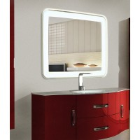 Зеркало в ванную комнату с подсветкой Мила 100х80 см
